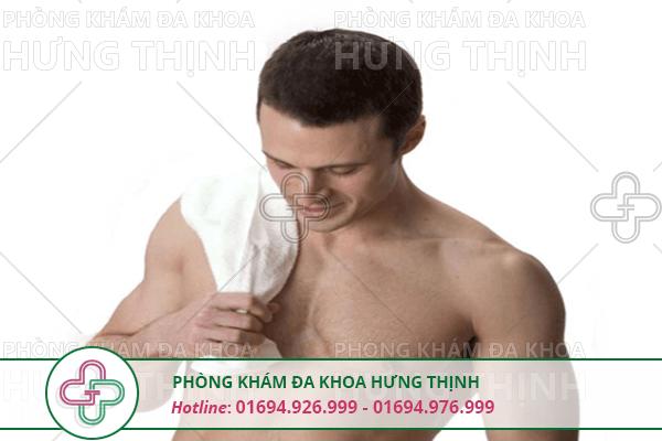Cách vệ sinh khi bị viêm bao quy đầu