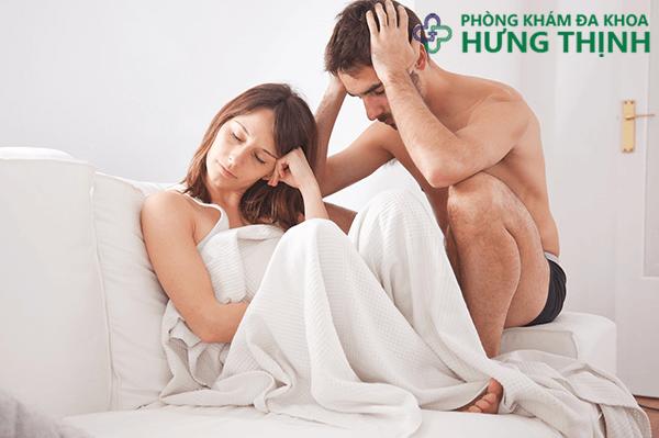 Nguyên nhân gây nên bệnh liệt dương ở nam giới
